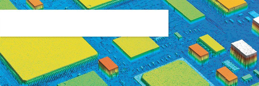 2D or 3D Flatness measurement
