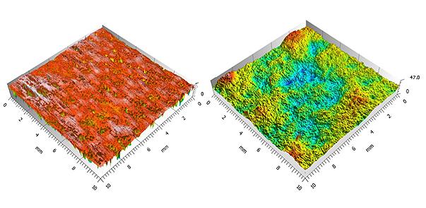Honeycomb Panel Finish Measurement Using 3D Profilometry