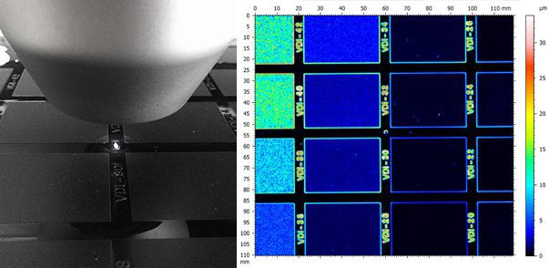 Roughness Mapping Inspection Using 3D Profilometry