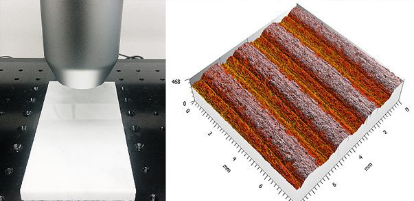 Machining Finish Quality Using 3D Profilometry