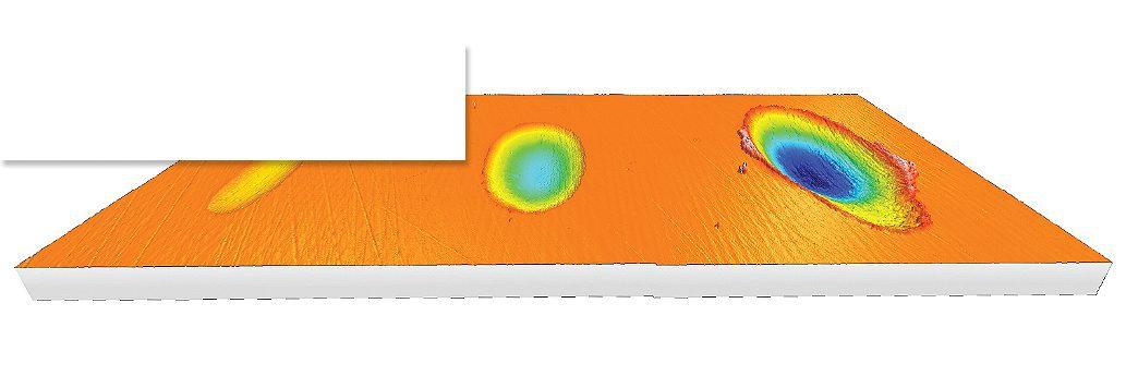 Fretting 3D volume measurement
