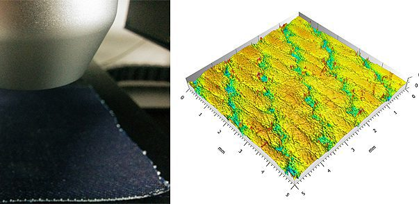 Textile Texture Measurement Using 3D Profilometry